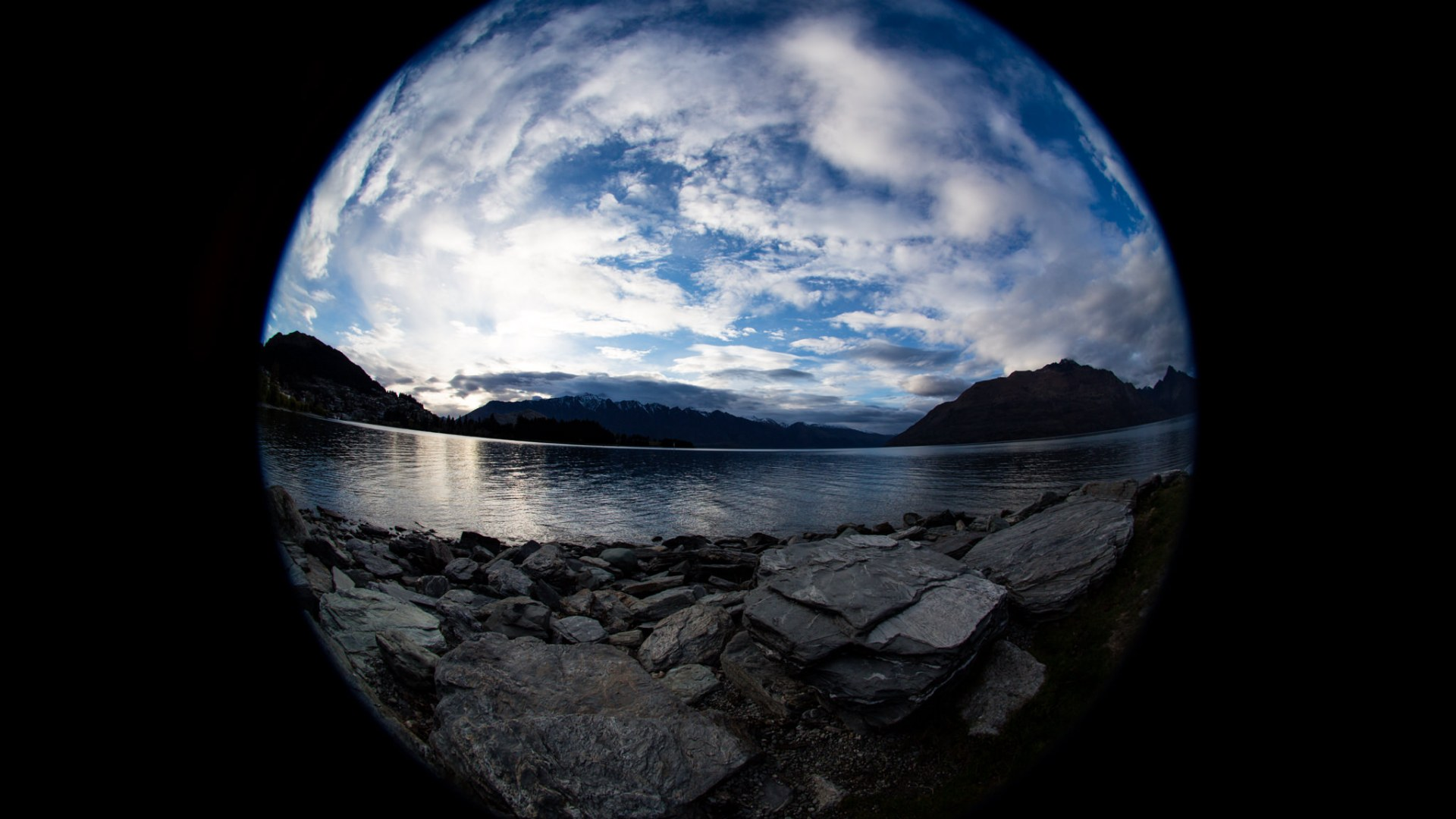 Fisheye Sunrise